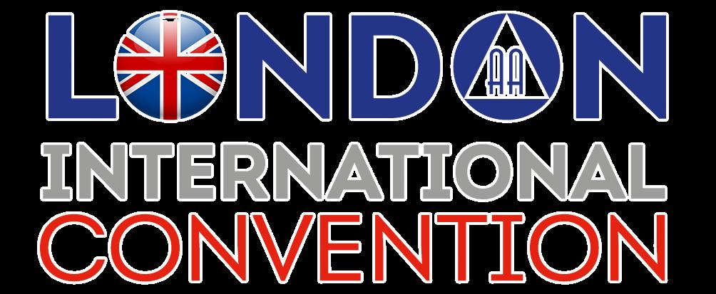 London AA International Convention Logo